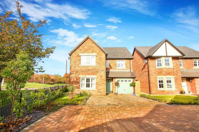 4 Bedrooms Detached House for sale in Rosewood Close, North Shields