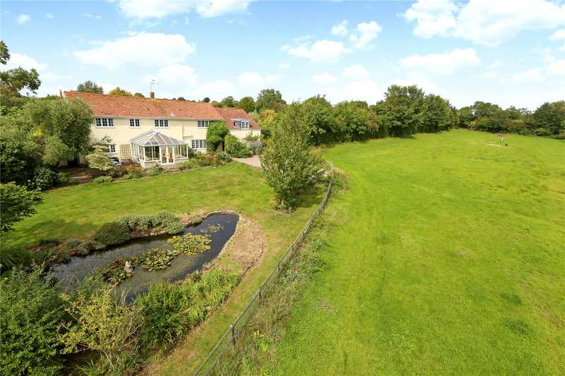 4 Bedrooms Detached House for sale in Stone Allerton, Axbridge, Somerset, BS26