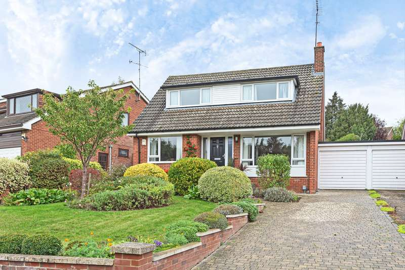 3 Bedrooms Link Detached House for sale in Cranborne Avenue, Hitchin, SG5
