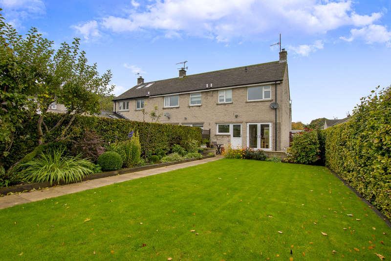 3 Bedrooms End Of Terrace House for sale in Lowside Close, Calver, Hope Valley