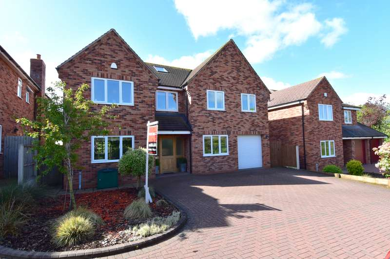 5 Bedrooms Detached House for sale in Tagwell Road, Droitwich, Worcestershire, WR9
