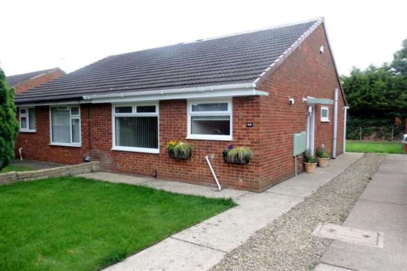 2 Bedrooms Semi Detached Bungalow for rent in Fairburn Close, Stockton-On-Tees, TS19