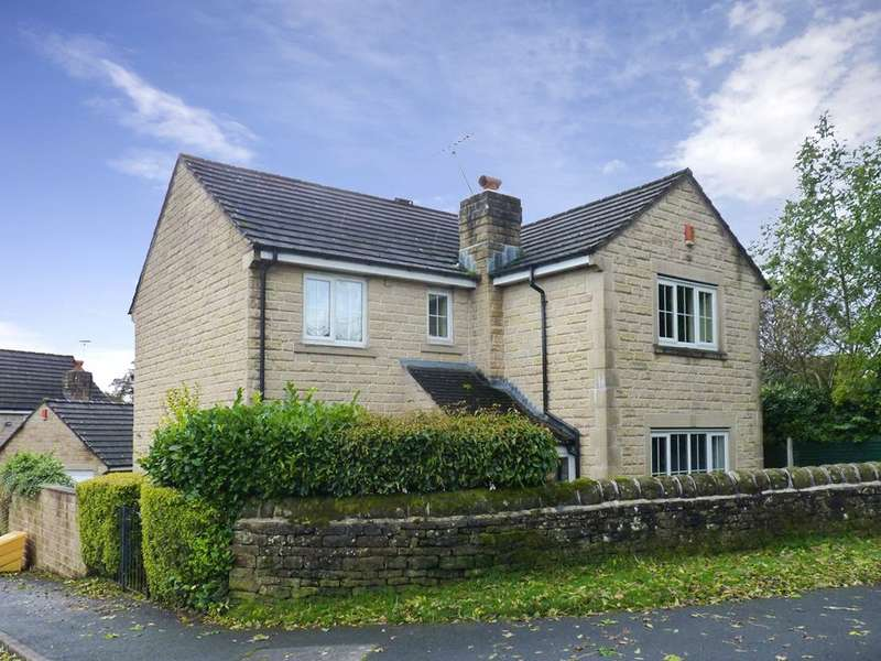 4 Bedrooms Detached House for sale in Dendrum Close, Oakworth, Keighley, West Yorkshire