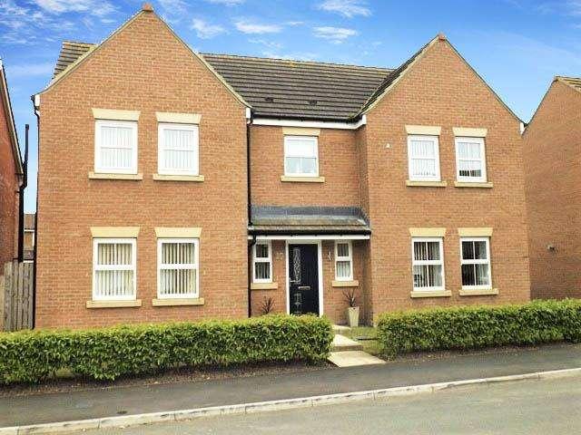 5 Bedrooms Detached House for sale in Carnoustie Close, Ashington