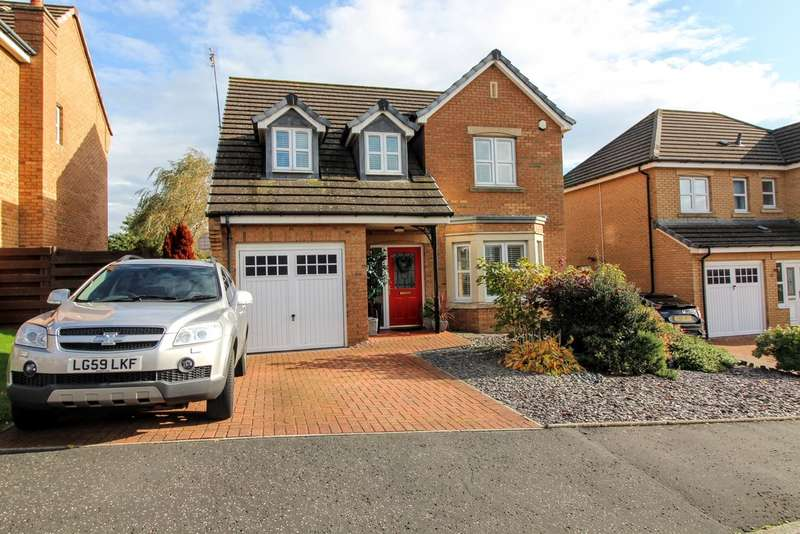 4 Bedrooms Detached House for sale in Whiteside Drive, Monkton, KA9