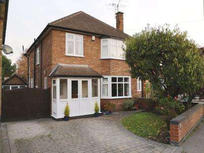 4 Bedrooms Detached House for sale in Tranby Gardens, Wollaton, Nottingham, Nottinghamshire