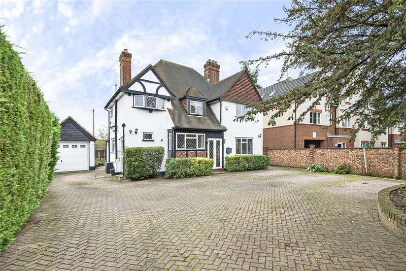 4 Bedrooms Detached House for sale in Church Road, Uxbridge, Middlesex, UB8