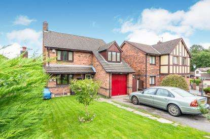 4 Bedrooms Detached House for sale in Delphfield, Norton, Runcorn, Cheshire, WA7
