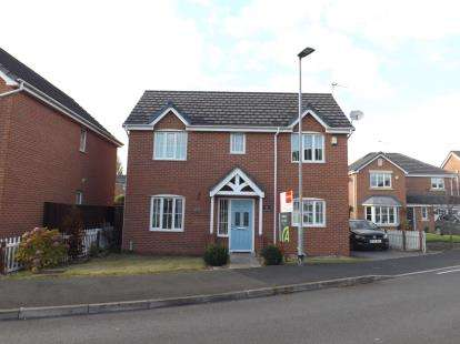 3 Bedrooms Detached House for sale in Blakehill Drive, Great Sankey, Warrington, Cheshire