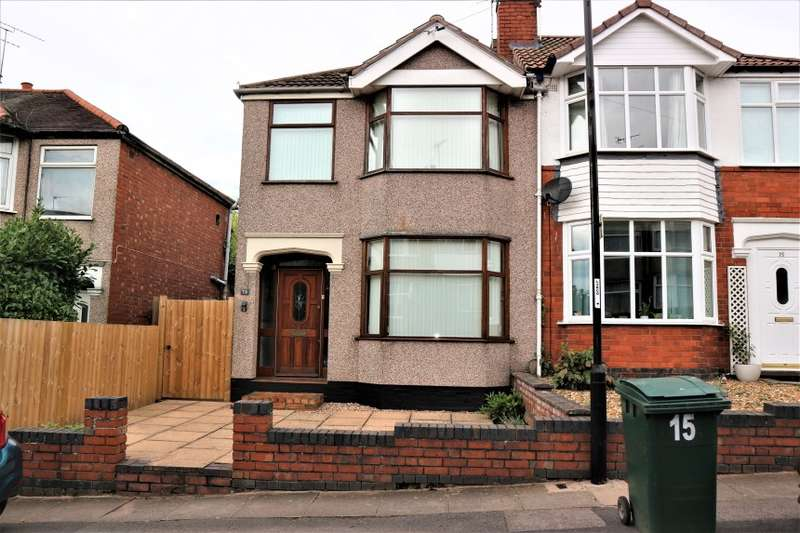 3 Bedrooms Semi Detached House for sale in 13 Purefoy Road, Cheylesmore, Coventry