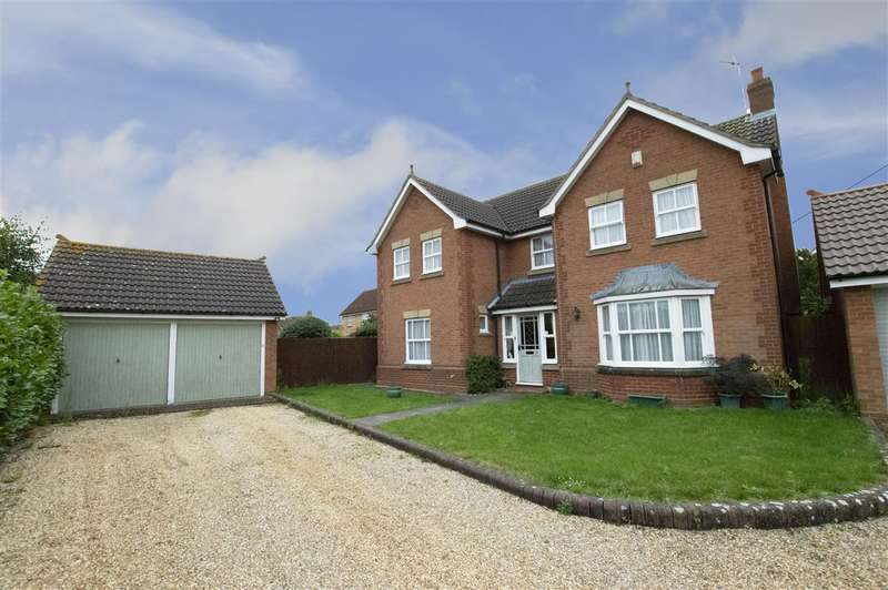 4 Bedrooms Detached House for sale in Chaucer Gardens, Sleaford