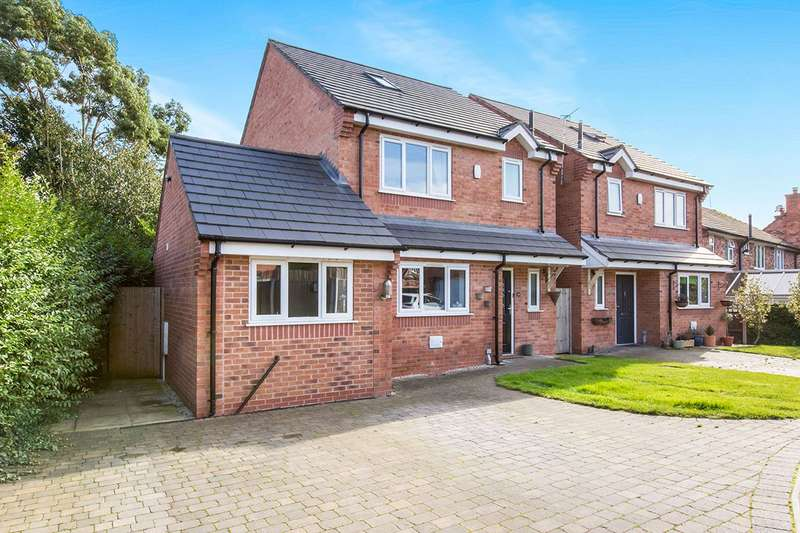 4 Bedrooms Detached House for sale in Astbury Lane Ends, Congleton, Cheshire, CW12