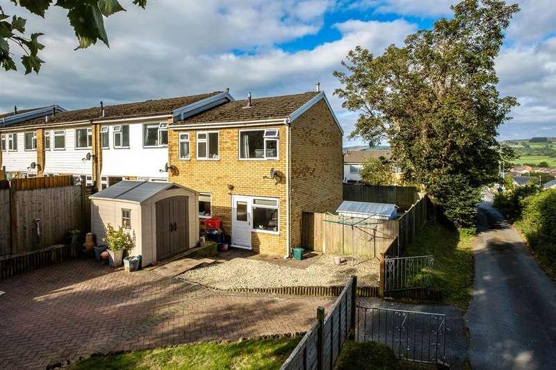 3 Bedrooms End Of Terrace House for sale in 3 Noyadd Close, Llandrindod Wells, LD1 5YF