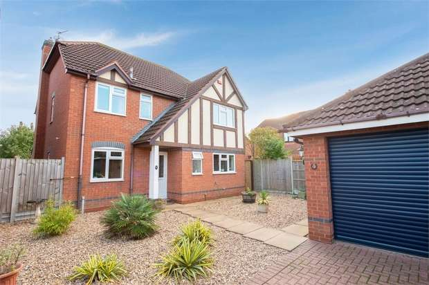 4 Bedrooms Detached House for sale in Herdwycke Close, Southam, Warwickshire