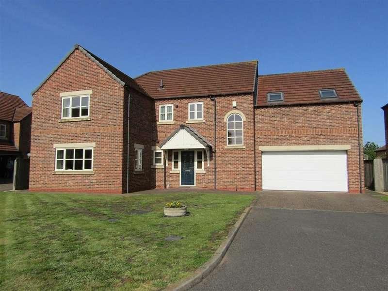 5 Bedrooms Detached House for sale in Nursery Gardens, Beckingham, Doncaster, DN10 4NF