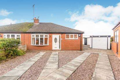 2 Bedrooms Bungalow for sale in Troutbeck Avenue, Newton Le Willows, Merseyside, Uk