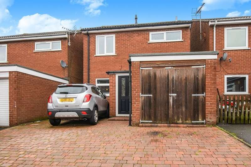 3 Bedrooms Detached House for sale in Stamford Drive, Coalville, LE67