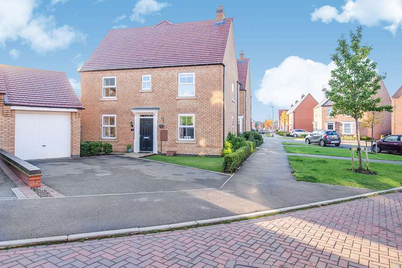 3 Bedrooms Semi Detached House for sale in Ivy House Close, Sapcote, Leicester, LE9