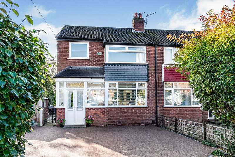 3 Bedrooms Semi Detached House for sale in Arlington Avenue, Swinton, Manchester, Greater Manchester, M27