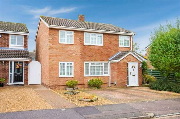 3 Bedrooms Detached House for sale in Lorraine Road, Wootton, Bedford