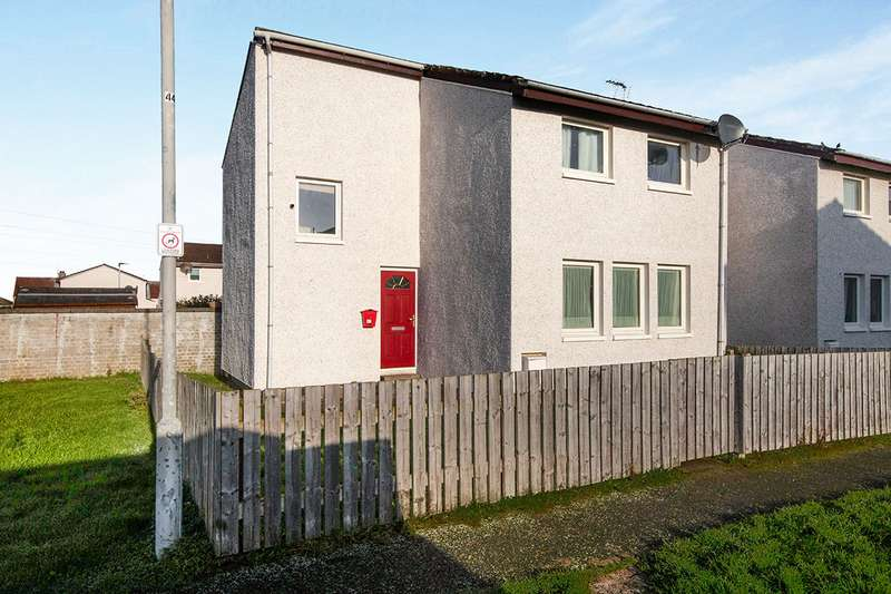 3 Bedrooms End Of Terrace House for sale in Milton Drive, Buckie, Moray, AB56