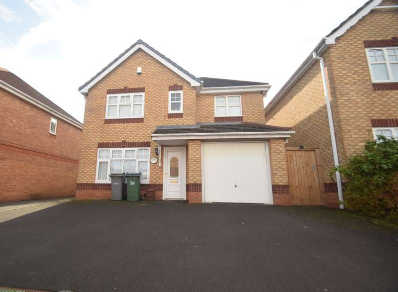 3 Bedrooms Detached House for sale in Edwin Phillips Drive, West Bromwich, B71