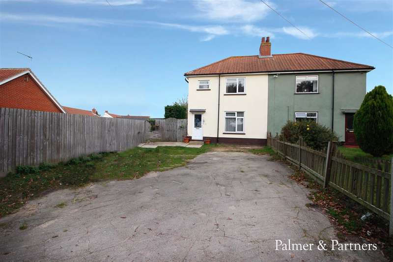 3 Bedrooms Semi Detached House for sale in Gravel Pit Lane, Brantham