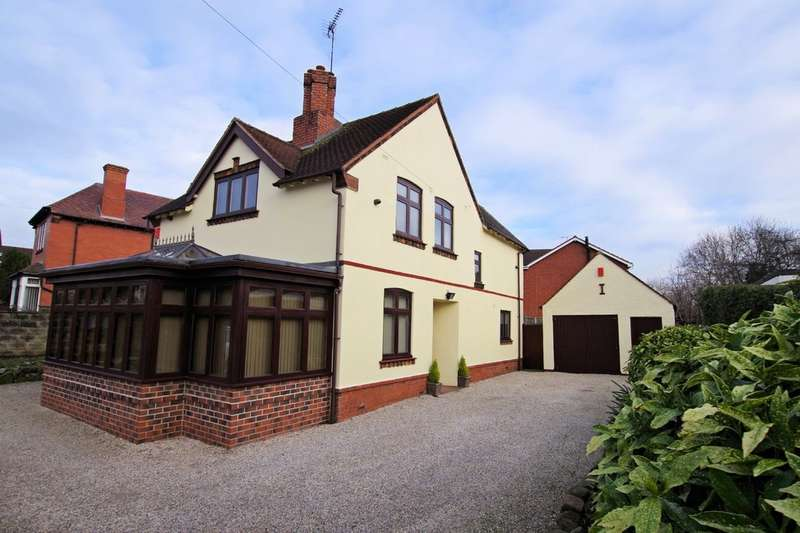 4 Bedrooms Detached House for sale in Cheadle Road, Uttoxeter