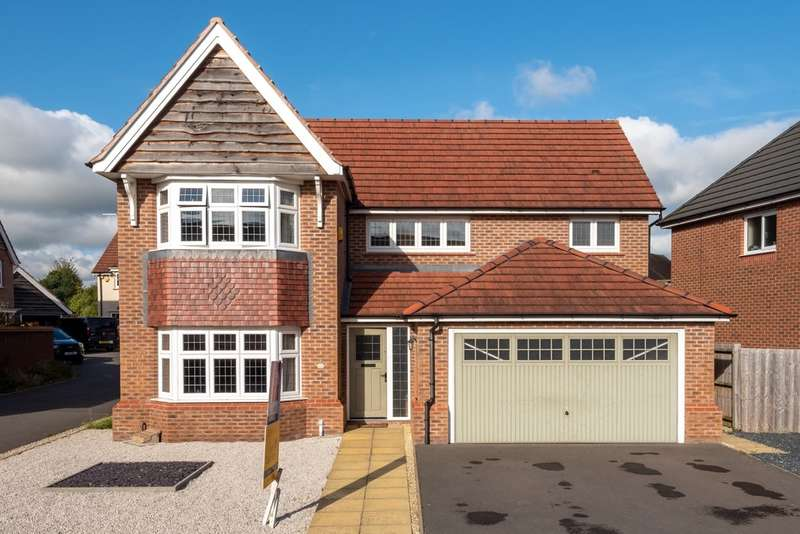 4 Bedrooms Detached House for sale in Reed Drive, Castle View, Stafford