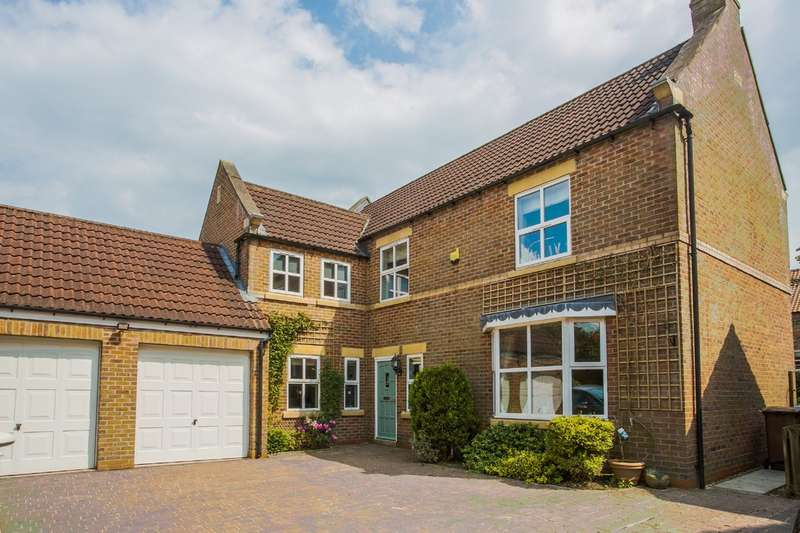 5 Bedrooms Detached House for sale in Wilberfoss, York YO41