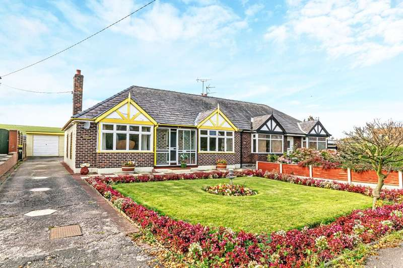 3 Bedrooms Semi Detached Bungalow for sale in Norley Road, Frodsham, WA6