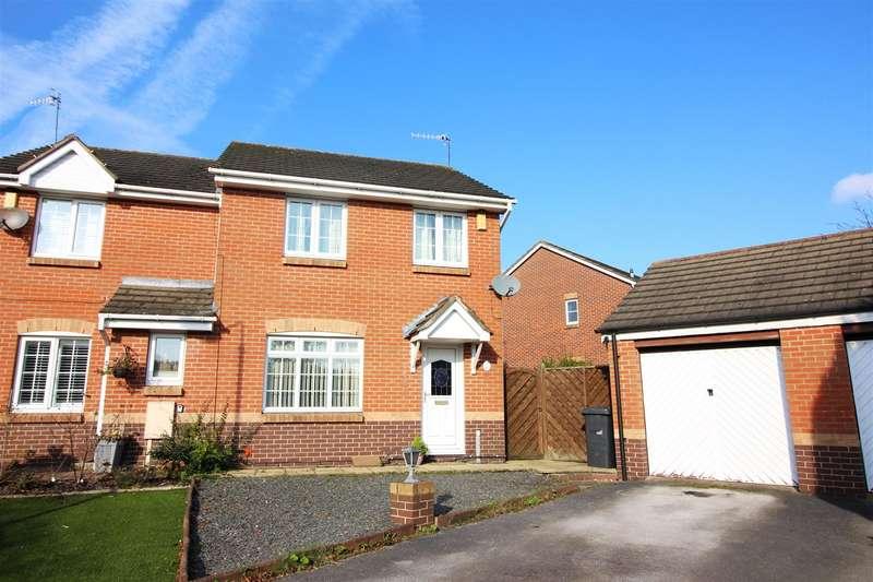 3 Bedrooms Semi Detached House for sale in Beeston Close, Bestwood Village, Nottingham