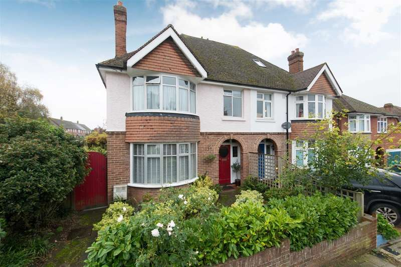 3 Bedrooms Semi Detached House for sale in Nunnery Road, Canterbury
