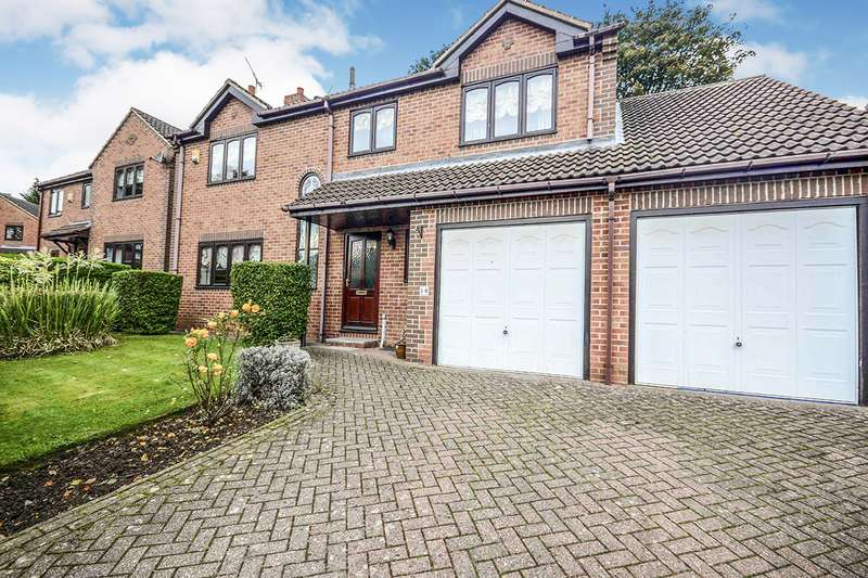4 Bedrooms Detached House for sale in Vicarage Close, Grenoside, Sheffield, South Yorkshire, S35