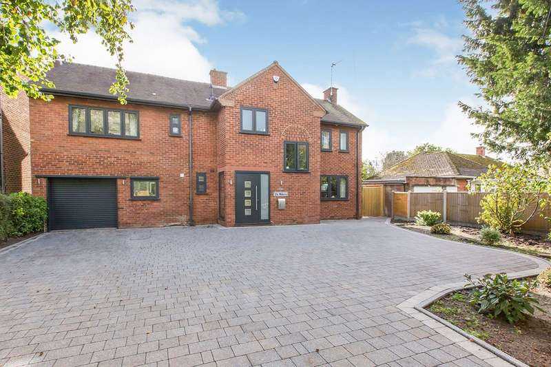 4 Bedrooms Detached House for sale in Sandbach Road, Congleton, Cheshire, CW12
