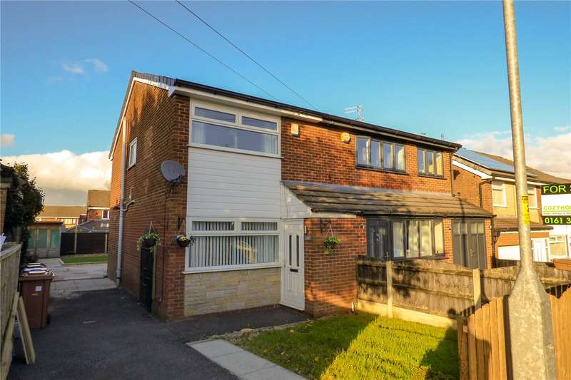 2 Bedrooms Semi Detached House for sale in Lapwing Close, Stalybridge, Greater Manchester, SK15
