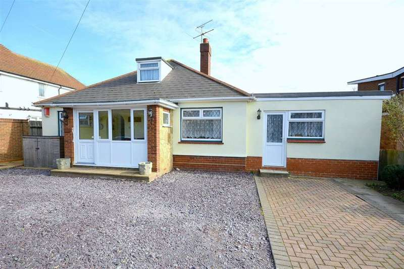 4 Bedrooms Detached Bungalow for sale in Ramsgate Road, Broadstairs, Kent