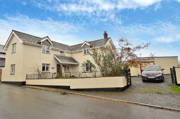 3 Bedrooms Detached House for sale in Shebbear, Beaworthy, Devon