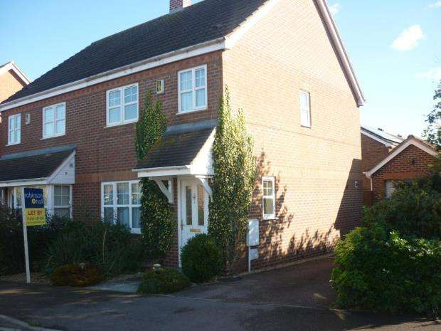 3 Bedrooms Semi Detached House for rent in Trow Close, Cotton End