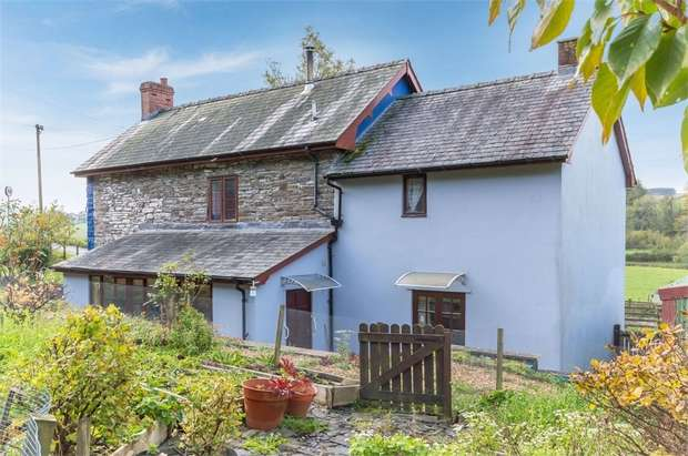 4 Bedrooms Detached House for sale in Llanbadarn Fynydd, Llanbadarn Fynydd, Llandrindod Wells, Powys
