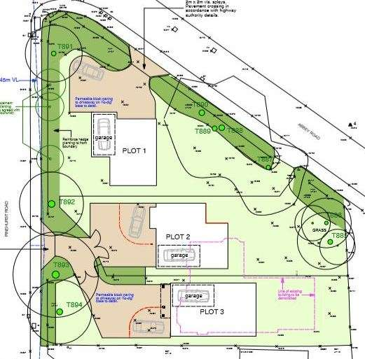 Land Commercial for sale in Abbey Road, West Moors, Ferndown, Dorset, BH22