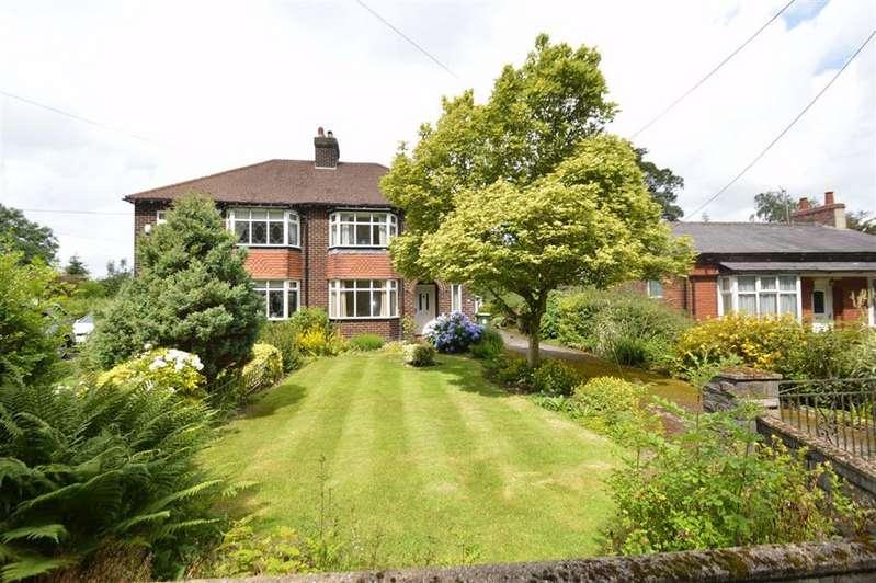 3 Bedrooms Semi Detached House for sale in Clarke Lane, Kerridge, Macclesfield