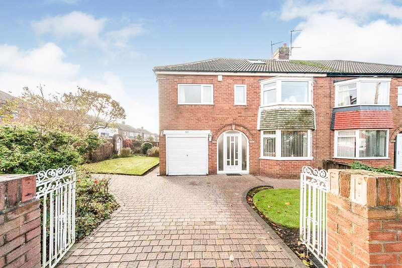 5 Bedrooms Semi Detached House for sale in Cortina Avenue, Sunderland, Tyne and Wear, SR4