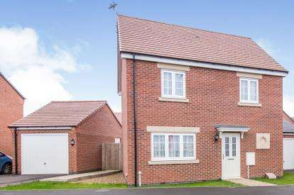 3 Bedrooms Detached House for sale in Birstall Meadow Road, Birstall, Leicester, Leicestershire