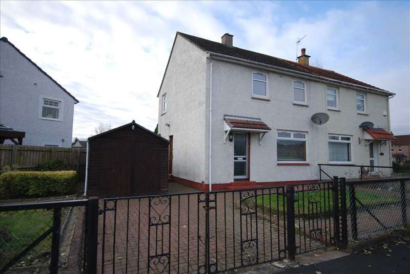 2 Bedrooms Semi Detached House for sale in Queen Street, Kilwinning
