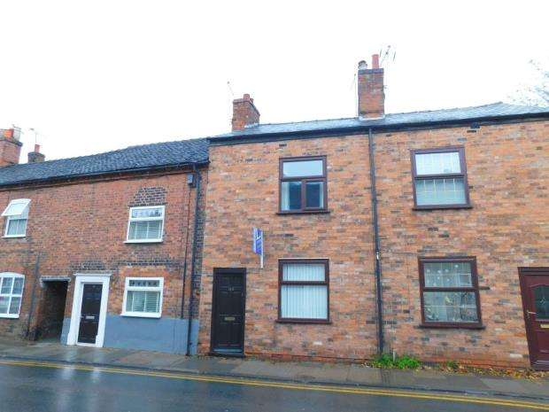 3 Bedrooms Terraced House for sale in Hospital Street, Nantwich, Cheshire