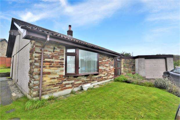 3 Bedrooms Detached Bungalow for sale in Oakey Orchard, Lower Metherell, Callington, Cornwall