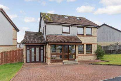 4 Bedrooms Detached House for sale in Braefoot Crescent, Law, Carluke, South Lanarkshire