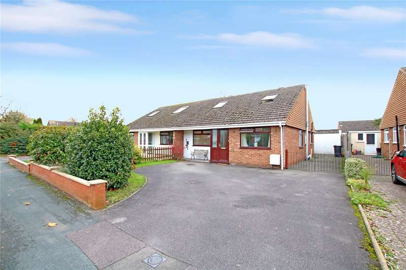 3 Bedrooms Semi Detached Bungalow for sale in Witham Way, Upper Stratton, Swindon, Wilts, SN2