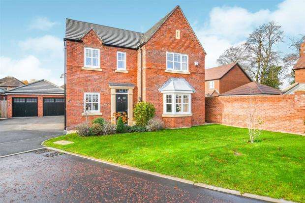 4 Bedrooms Detached House for sale in Sergeant Drive, Paddington, Warrington